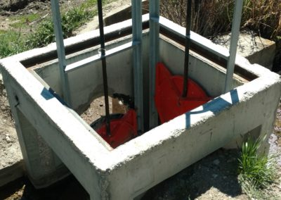 Slide Gate Diversion